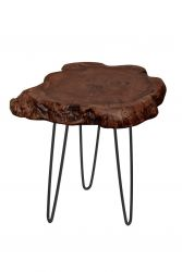 Small Side Table Montanio | Dark Wood