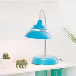 Tafellamp Groot | Donker Turquoise