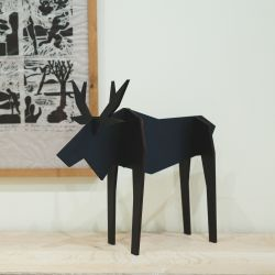 Moose | Animal Figure Black