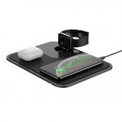 Moovy 3-in-1 Wireless Schnell-Ladestation
