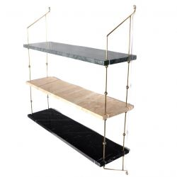 Shelf Morse | Multi Marble Green / Sand / Black