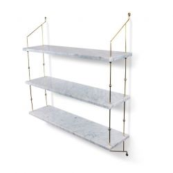 Shelf Morse | White Marble