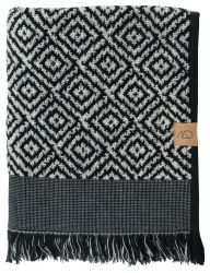 Bath Towel Morocco | Black/White
