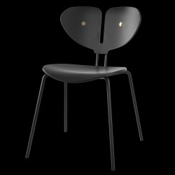 Dining Chair Moth | Black