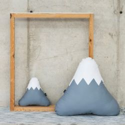 Mountain Cushion | Grey