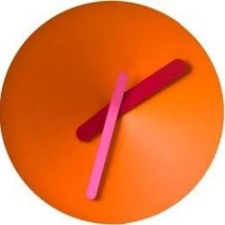 Mozia Wall Clock Orange
