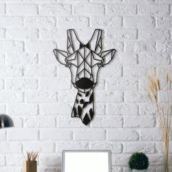 Wanddekoration Giraffe