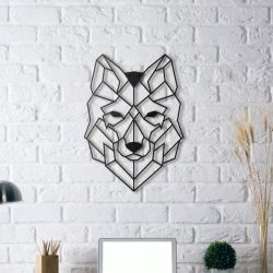 Wall Deco Wolf