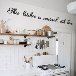 Wall Deco This Kitchen Is Seasoned With Love