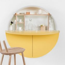 Desk Pill | White / Yellow