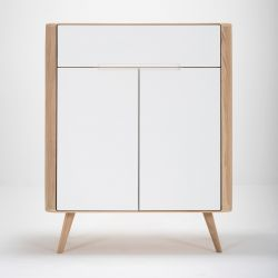 Dresser Ena 01 | White Hardwax Oiled