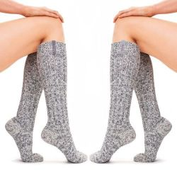 Frauensocken Frau Grey Duo Pack