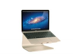 MacBook Stand with Swivel Base mStand360 | Gold