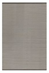 Indoor/Outdoor Plastic Rug Multi Grey Stripes | Grey