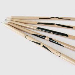 Satz mit 5 Bleistiften Schnurrbart