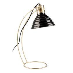 Bureaulamp Curly | Zwart