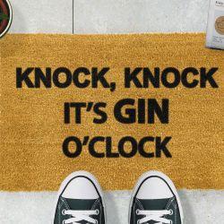 Fußmatte Gin O'Clock