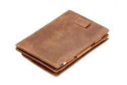 Geldbörse für Münzen Cavare | Braun Gebürstet