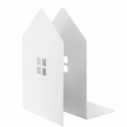 Buchstützen Mybrary | Weiß