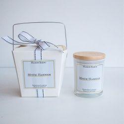 Bougie Parfumée Eucalyptus & Pin | Mystic Hammam