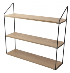 Wall Rack 3 Shelves | Natural