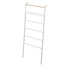 Ladder Hanger Wide with Rack Tower | White