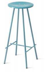 Nam Nam Bar Stool Smooth Blue