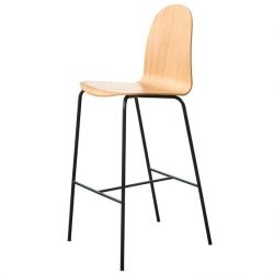 Tabouret de Bar Nam Nam Contract | Chêne