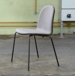 Nam Nam Contract Chair | Grey Upholstered