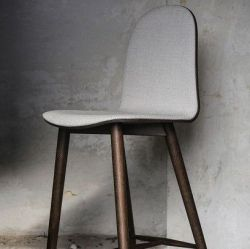Nam Nam Chair Wood | Dark & Grey