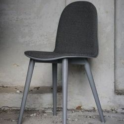 Nam Nam Chair Wood | Grey & Anthracite