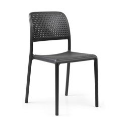 Stackable Chair Bora Bistrot | Anthracite