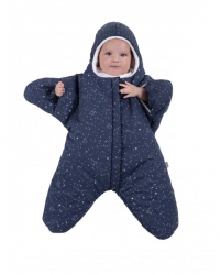 Duvet Etoile Enfant 3-6 m | Bleu Marine