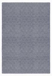 Indoor/Outdoor PET Rug Solitaire | Navy Blue