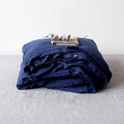 Bettdeckenbezug | Marineblau