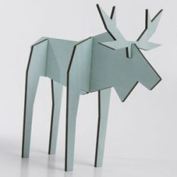 Moose | Animal Figure Eucalyptus