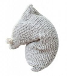 Nest Knitted Bean Bag | Light Grey