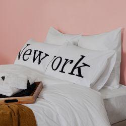 2er-Set Kissenbezüge | New York