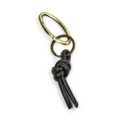 Schlüsselanhänger | Leder | Schwarz