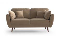 2 Sitzer Sofa Auteuil | Karamell