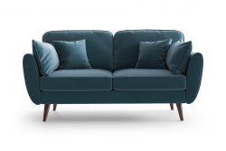 2 Seater Sofa Auteuil | Blue