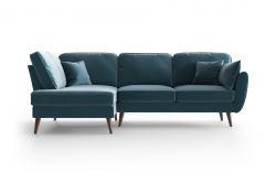 Corner Sofa Left Auteuil | Blue