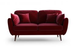 2 Seater Sofa Auteuil | Red