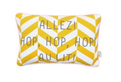 Message Cushion | Allez Hop Hop Au Lit