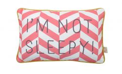 Message Cushion | I'm Not Sleepy