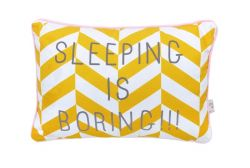 Message Cushion | Sleeping Is Boring