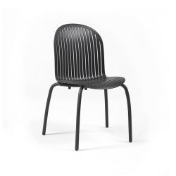 Dinner Chair Ninfea | Anthracite