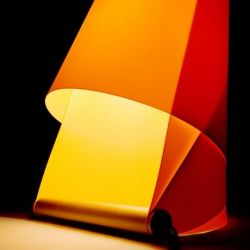 Furoshiki Table Lamp Orange