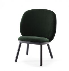 Low Chair Naïve | Green Velour