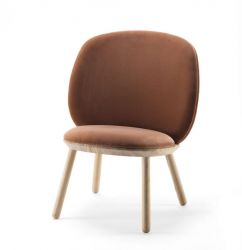 Low Chair Naïve | Terracotta Velour